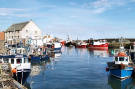 10-Pittenweem fishing village on the North Sea in Scotland