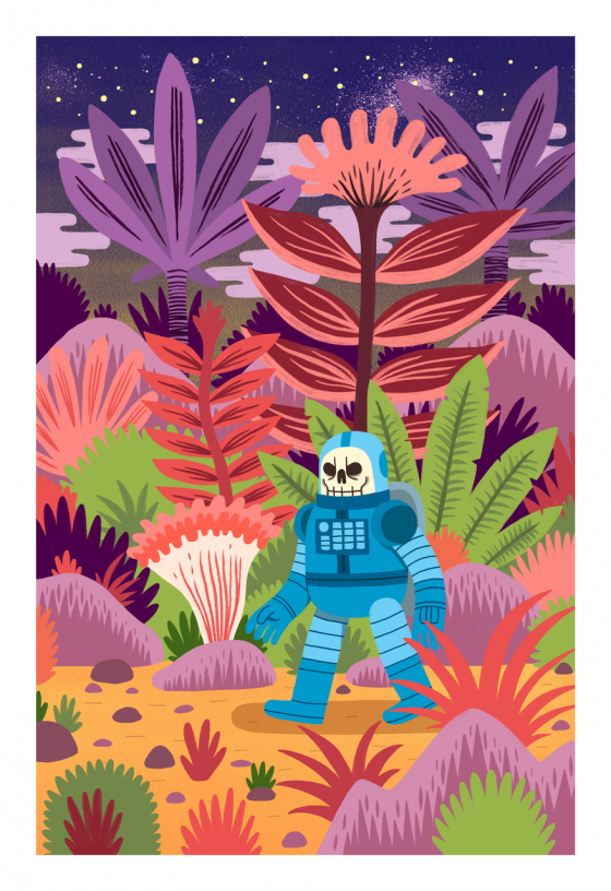 "From ""Jeff Job Hunter"" to a well-known illustrator: interview with Jack Teagle"