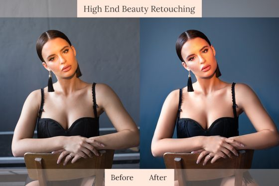 4. High End Beauty Retouching