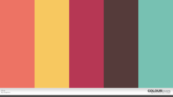 alive color palette
