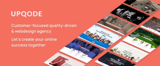 UPQODE Premium Web Design