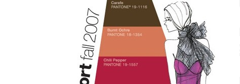 Pantone Unveils Top 10 Colors for Fall 2007