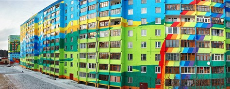 From Russia with Color Love: Ramenskoye Apartments