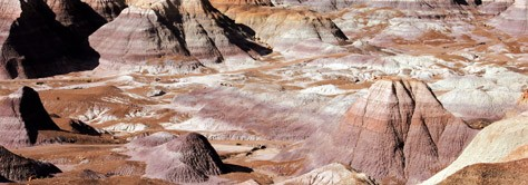 Landmark Colors:  The Painted Desert, Arizona