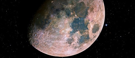 Color in Science: The Moon