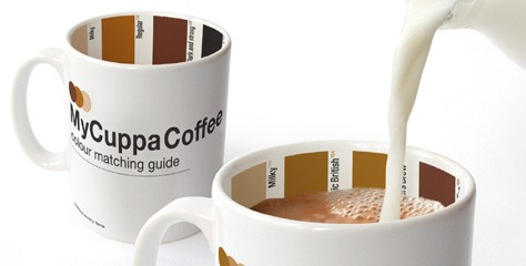 Color Inspiraton from Coffee and Tea