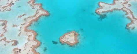 Landmark Colors:  The Great Barrier Reef