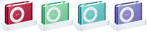 Apple's iPod Colors Growing Up