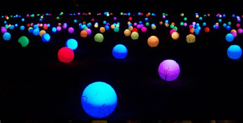 September Light Events: Great Balls of Color!