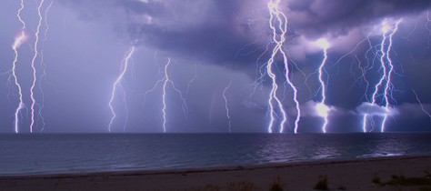 Bolts From the Blue: The Electric Colors of Lightning