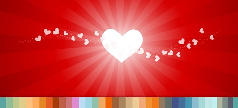 Be Our Valentine! Share the Color Love…