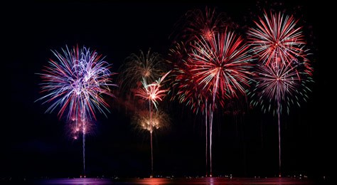 The Magical Colors of Fireworks