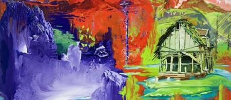 Artists In Color: Stephen Bush + Sanderson Bob