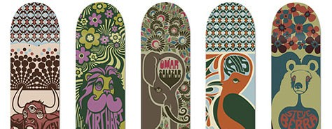 The Colors Of Skateboard Art