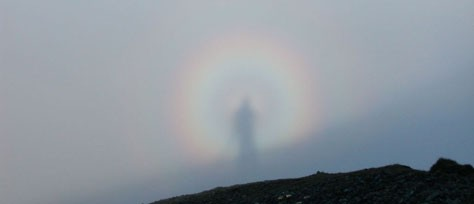 Spectral Colors Of Brocken Bows And Glories