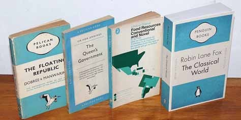 Vintage Color & Design: Penguin & Pelican Books
