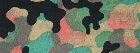 Colors Of Concealment: Military Camouflage