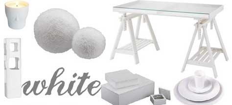 Interior Design Trends: White