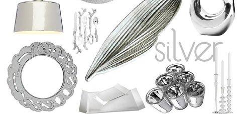 Interior Design Trends: Silver