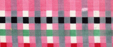 Vintage Color & Design: Pink Fabric