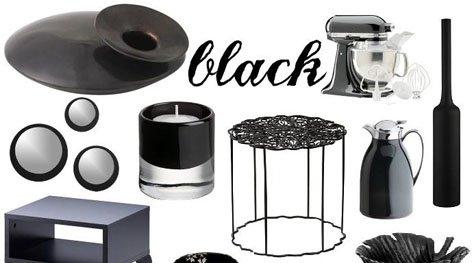 Interior Designs Trends: Black