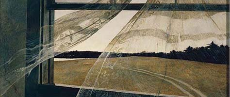 Remembering The Colors Of Andrew Wyeth