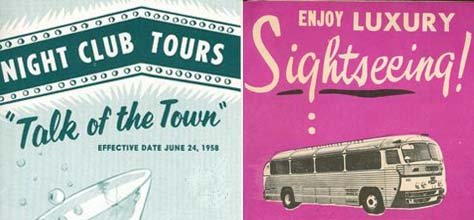 Vintage Color &amp; Design: 50's Tourism Brochures 