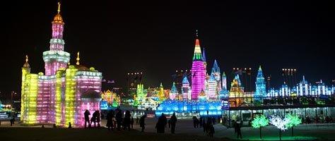 Color Inspiration: 2009 Harbin Ice & Snow Festival