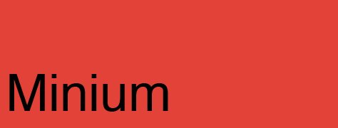 Lesser-Known Color Vocabulary: M Through R