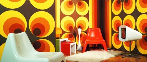 Color Inspiration: Wallpaper From The 70's