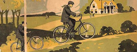Vintage Color & Design: Bicycle Posters