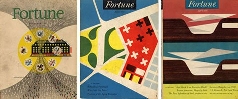 Vintage Color &amp; Design: Fortune Magazine