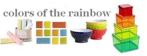 Interoir Design Trends: Rainbow