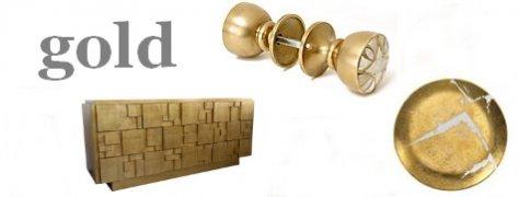Interior Design Trends: Gold