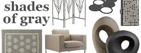 Interior Design Trends: Shades Of Grey