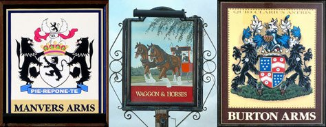 Color &amp; Design: British Pub Signs