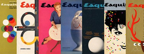 Vintage Color &amp; Design: Esquire Magazine