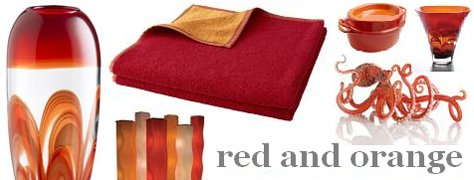 Interoir Design Trends: Red & Orange