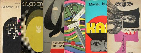 Vintage Color & Design: Polish Book Covers