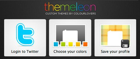 Themeleon : COLOURlove for Your Twitter Profile