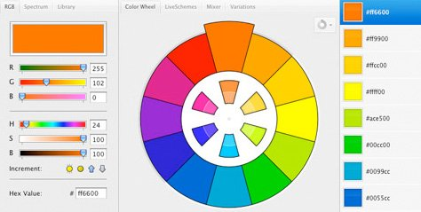 ColorSchemer Studio 2 for Mac (+COLOURlovers)