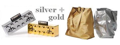 Interior Design Trends: Silver & Gold