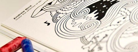 A Big List Of Coloring Books For Adults 