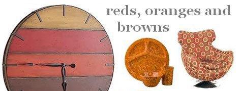 Interior Design Trends : Red, Orange & Brown