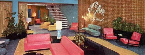 Vintage Motel Interiors 