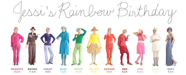 Jessi's Rainbow Birthday: A Celebration of Color