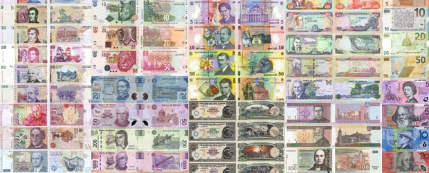 The World's Most Colorful Currencies, Part 2