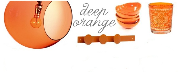 Interior Design Trends: Deep Orange