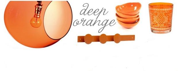 Interior Design Trends: Deep Orange