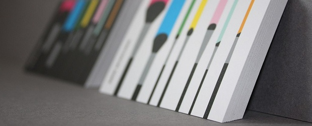 Inspiration from Business Cards  The Most Colorful Part of Your Business